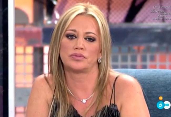 Belén Esteban habla tras saber que Carmen Bazán se ha derrumbado