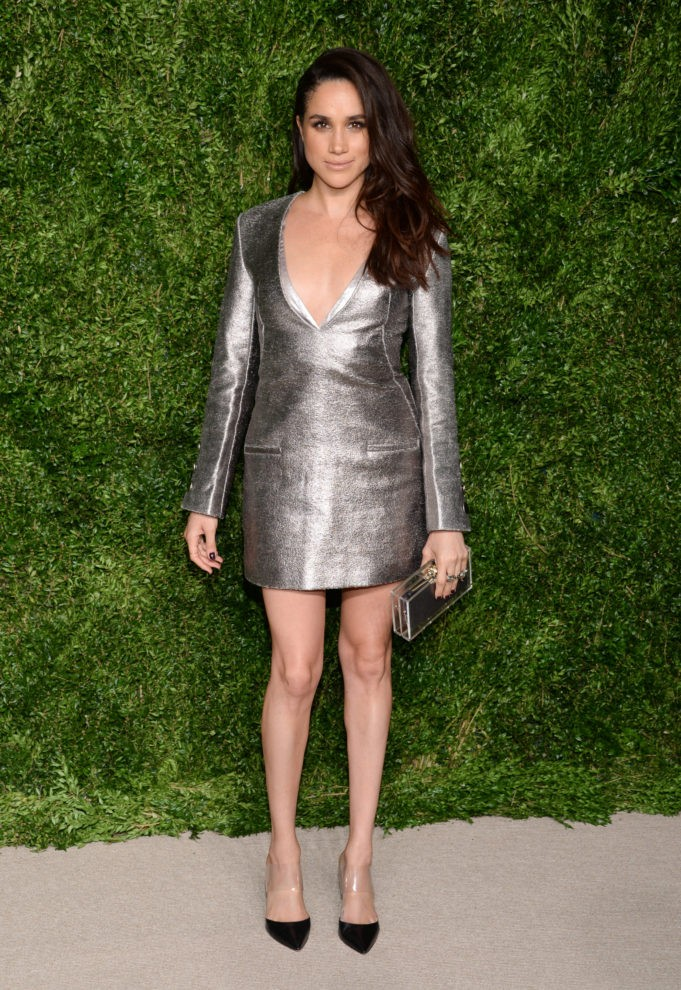 Actress Meghan Markle attending the 12th Annual CFDA/Vogue Fashion Fund Awards on Monday, Nov. 2, 2015, in New York.