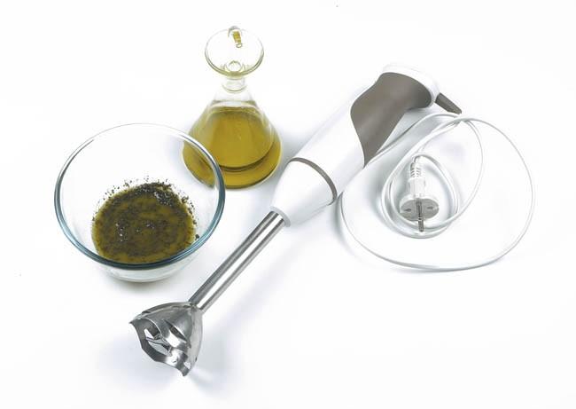 Carpaccio de buey con olivada