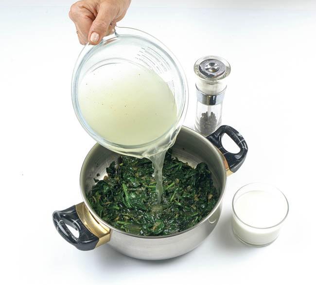 Crema fría de hierbas aromáticas