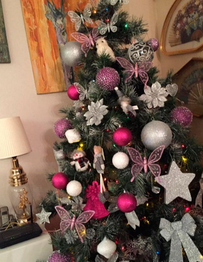 Arbol navidad rosa adornos para el rbol de navidad with arbol navidad rosa best rbol de - Arboles de navidad rosa ...
