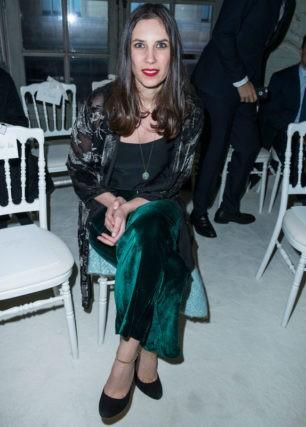 Tatiana Santo Domingo, desfile de moda con amigas en París