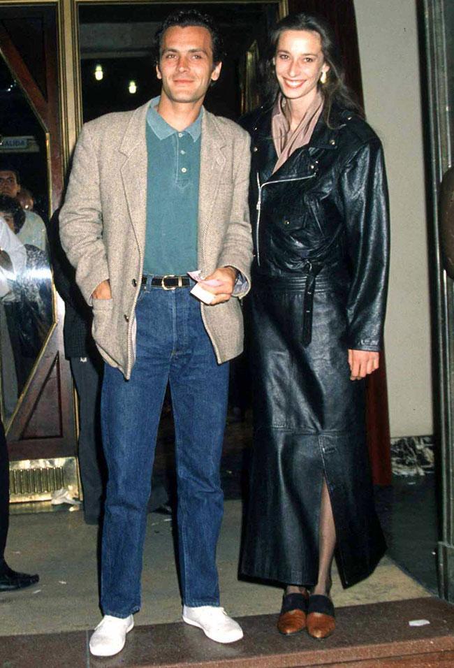 La pareja de actores tuvo un hijo llamado Nicolás en 1987.