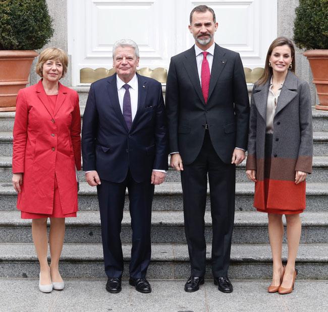 Reyes y Joachim Gauck
