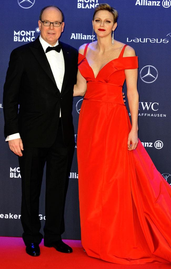 Alberto y Charlene de Monaco