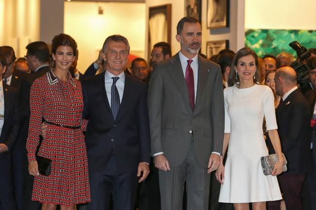 Mientras se tomaba esta decisión en Palma, los Reyes inauguraban la 36º edición de ARCO en Madrid.