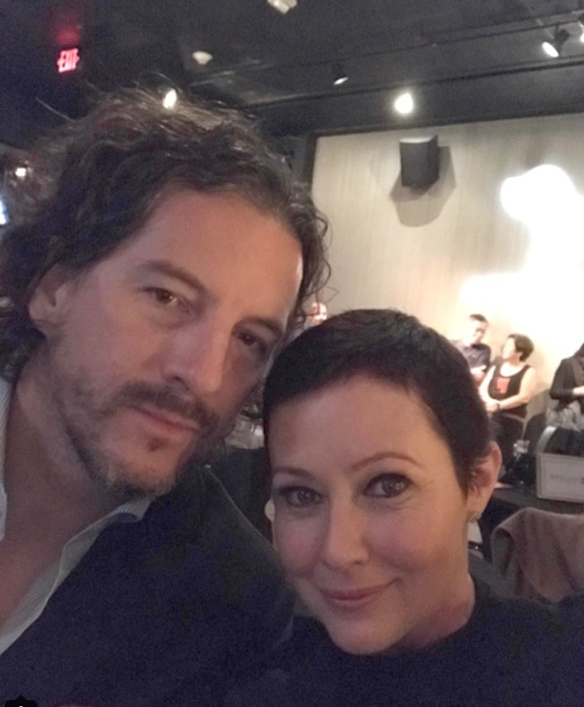 Shannen Doherty y su marido