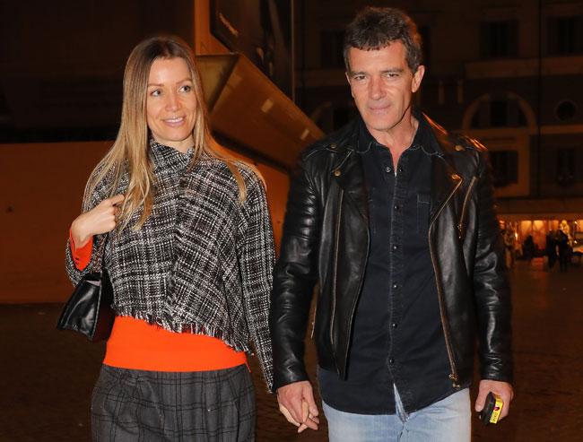 Nicole Kimpel se ha convertido en el apoyo incondicional de Antonio Banderas.