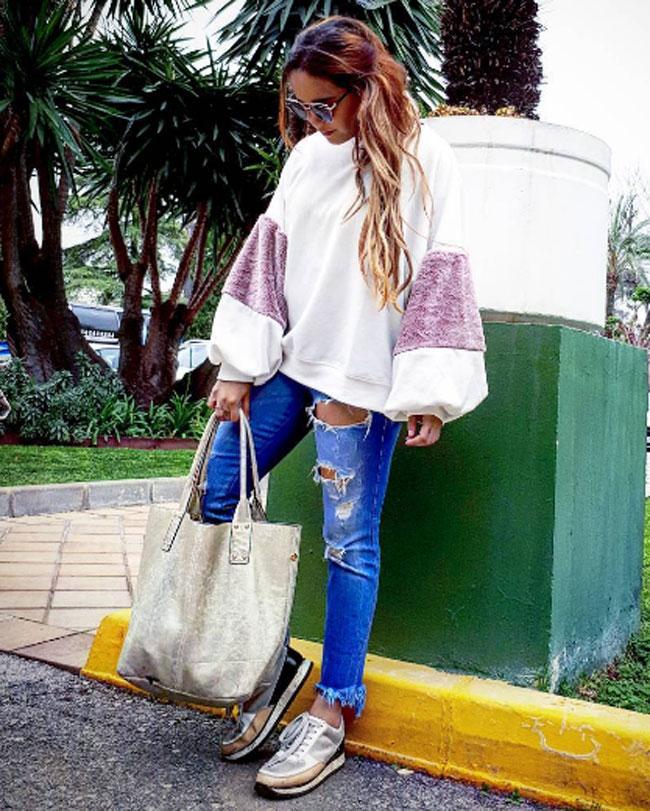 Gloria Camila ha comenzado un nuevo proyecto profesional con un blog de moda.