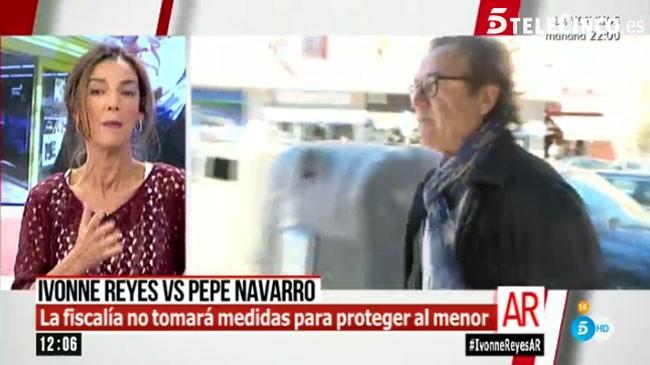 Pepe Navarro ha hablado a las cámaras de 'El programa de AR'.