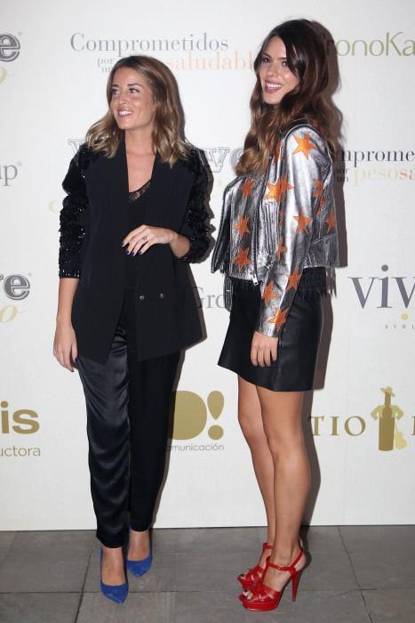 Marta y Laura comparten muchos momentos juntas, como este en la pasarela flamenca el pasado mes de noviembre en Madrid.