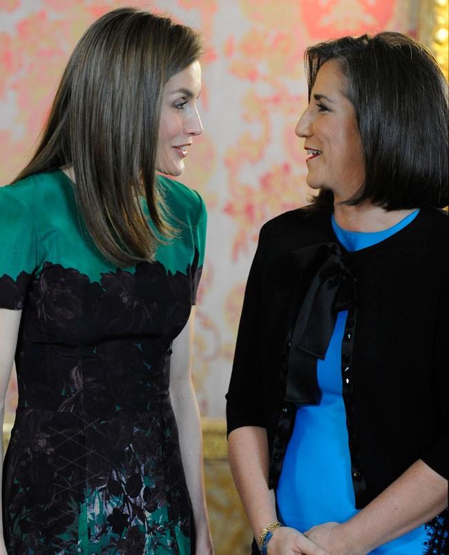 Letizia y Mercedes Peñas