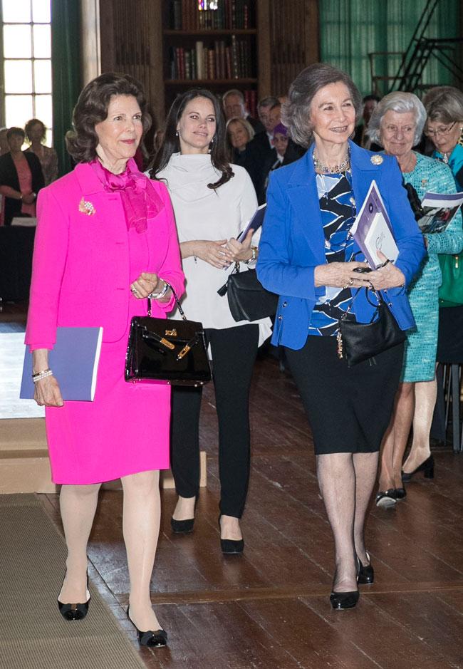 Reinas Sofía y Silvia