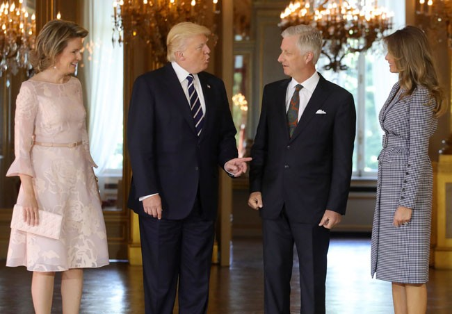 reyes belgas y trump