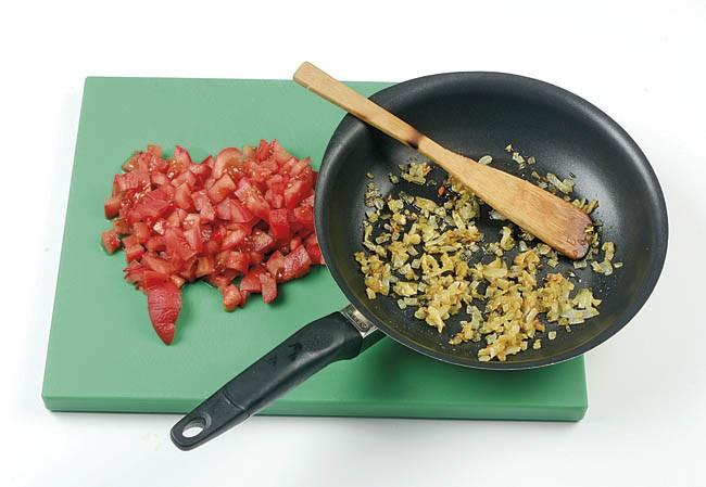 Gratinado de calabacín y tomate