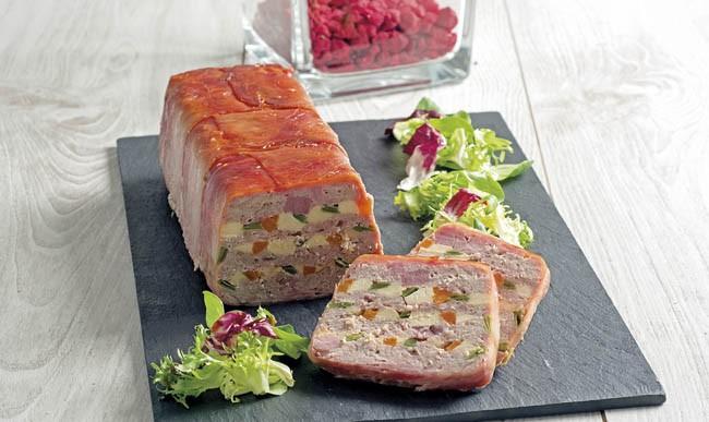 Pastel de carne y polloPastel de carne y pollo