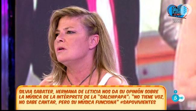 Silvia Sabater da la cara por Leticia tras ser criticada por su aspecto físico.