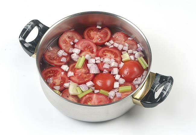 Sorbete de tomate