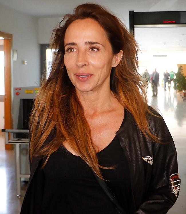 La periodista María Patiño durante un juicio en los Arcos de la Frontera en Cádiz 20/04/2017