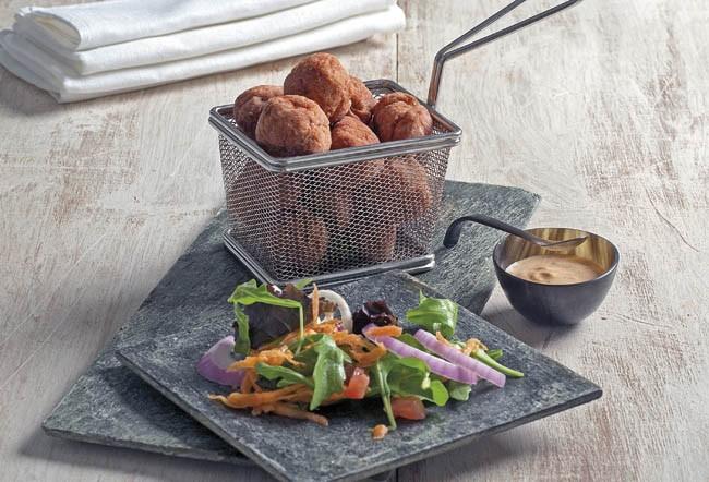 Albóndigas de pavo tandoori