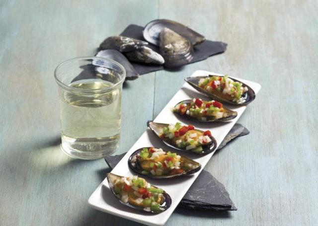 Recetas ideas interesantes y trucos de cocina semana - Mejillones al vapor con vinagreta ...