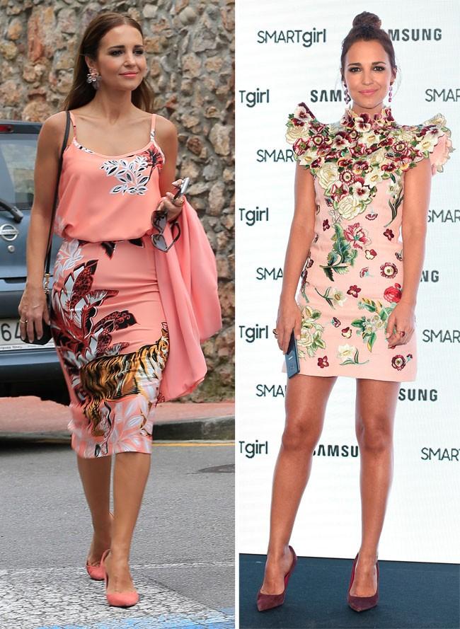 Los vestidos de flores de Paula Echevarría. Cópialos para estar a la ...
