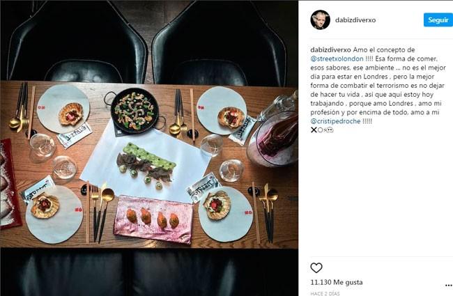 El poco afortunada condena de David en Instagram