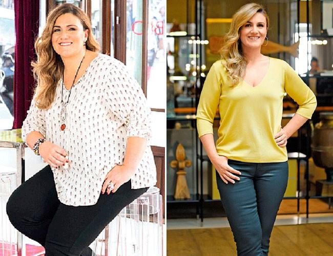 antes y despues de bajar de peso famosos guapos