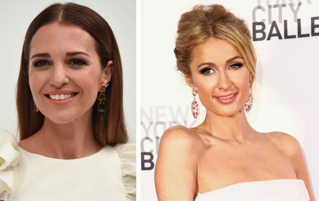 Paula Echevarría y Paris Hilton con el mismo vestido, ¿a quién le queda mejor?