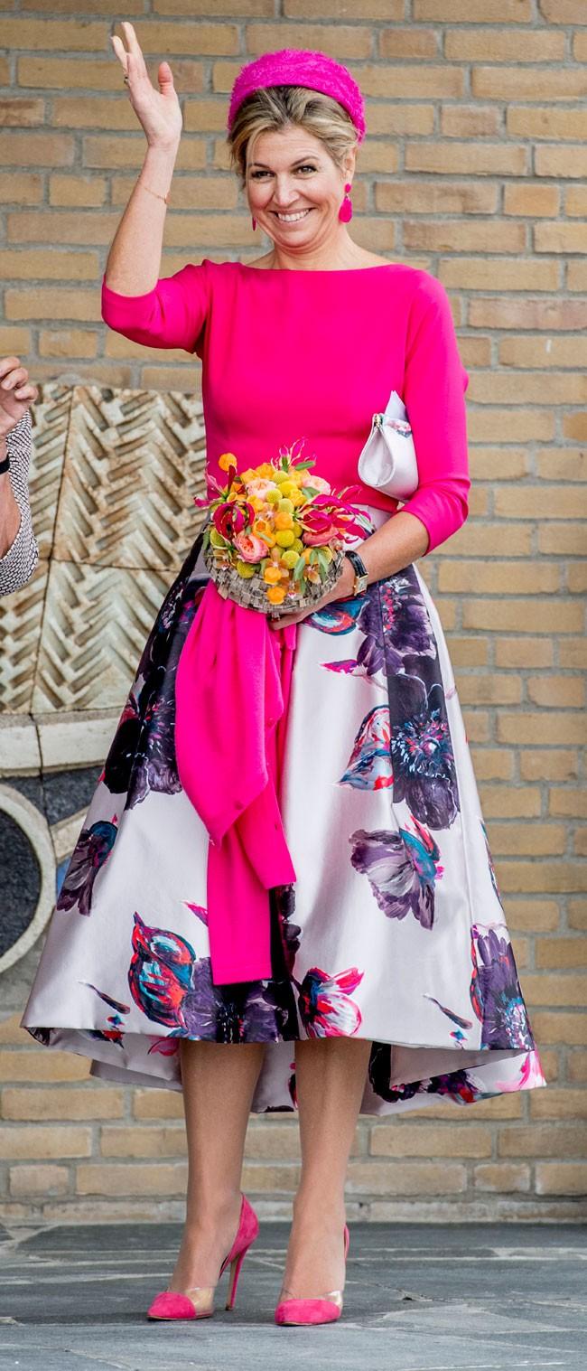 Todas Las Royals Se Enamoran De Los Vestidos De Flores
