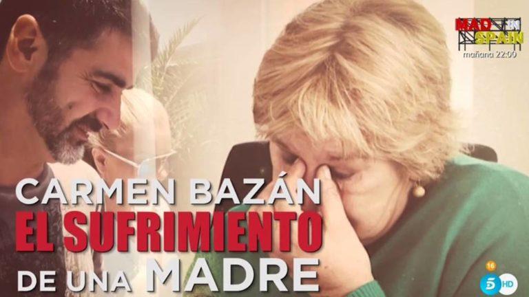 Carmen Bazán: «Jesulín está bastante triste»