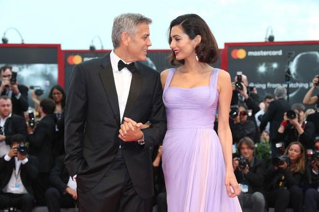 Amal y George Clooney, su espectacular reaparición tras ser padres