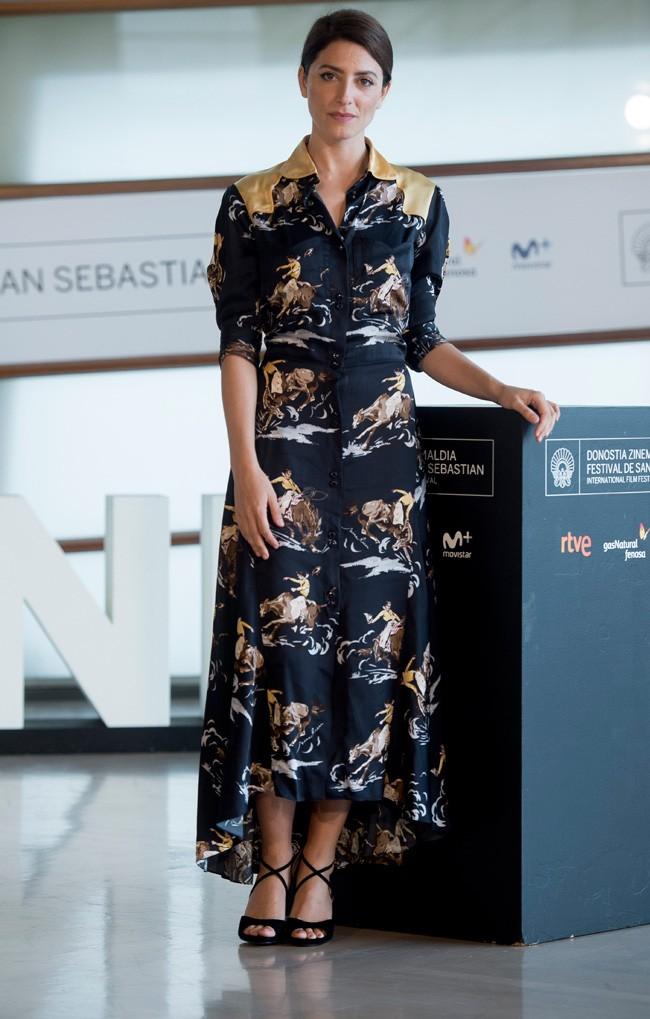 Bárbara Lennie, lección de estilo en San Sebastián