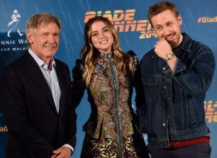 Ana de Armas, seductora junto a Harrison Ford y Ryan Gosling en Madrid