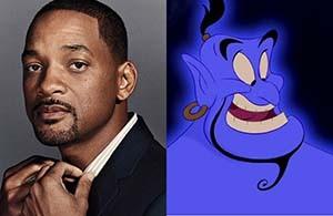 Will Smith será el Genio de Aladdin