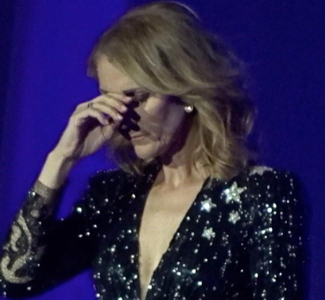 Céline Dion, las lágrimas por la conmoción de Las Vegas