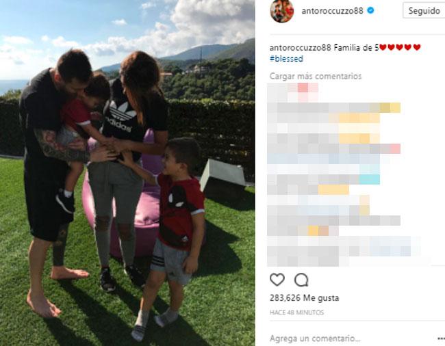 Leo Messi y Antonella Rocuzzo confirman que serán padres de un tercer hijo