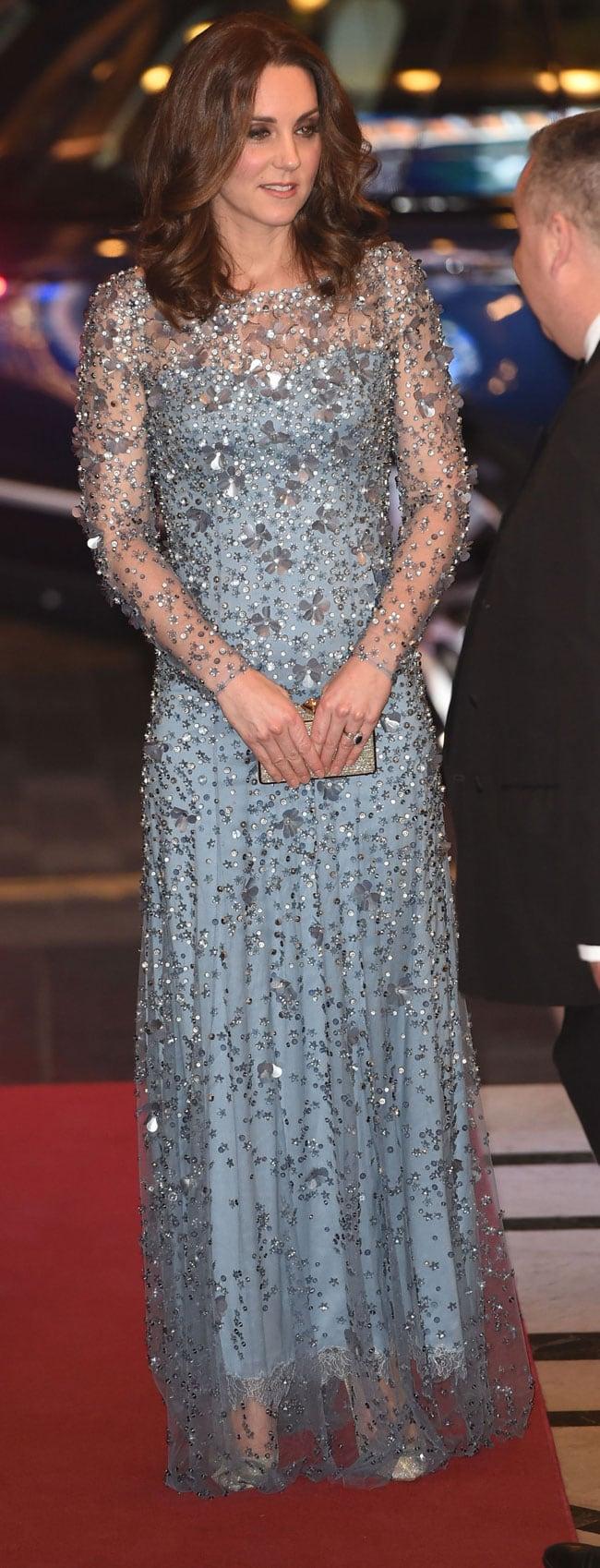 Kate Middleton brilla como una princesa Disney y no se le echan encima