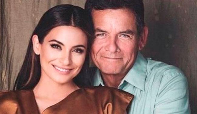 Ana Brenda, novia de Iván Sánchez, despide a su padre