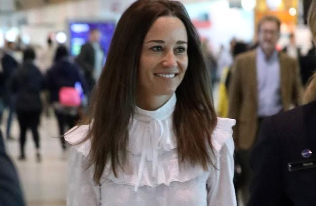 Pippa Middleton también es fan de la moda española… Y no es Zara
