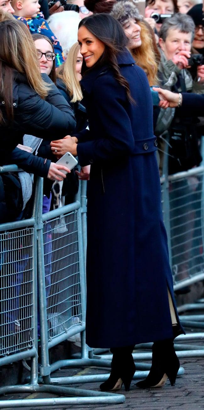 Abrigo novia principe