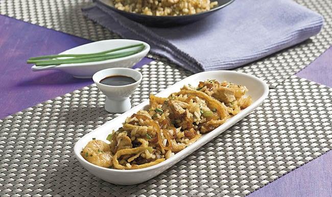 Receta Nasi goreng (arroz de indonesia)