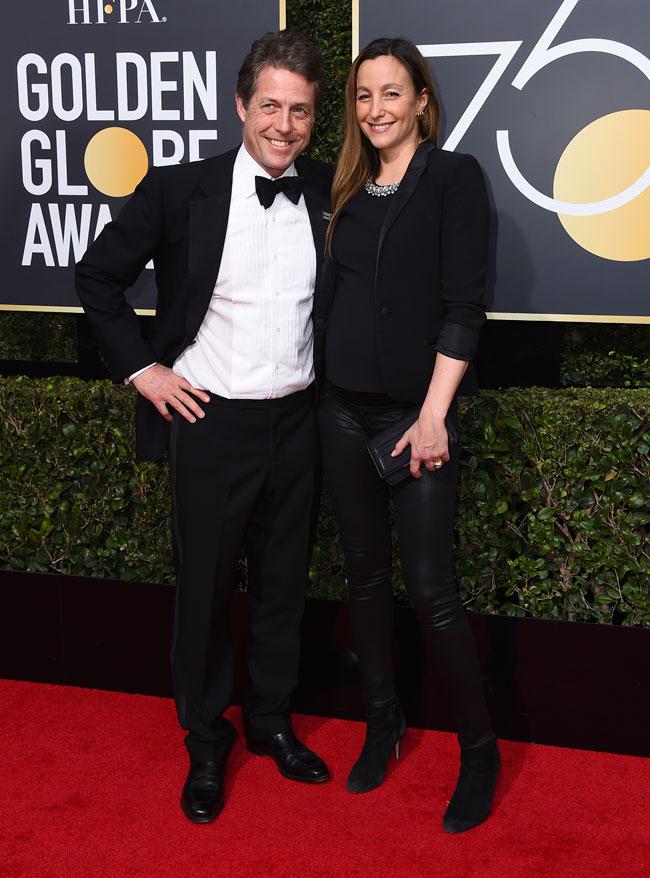 Hugh Grant va a ser padre por 5ª vez: descubre quién es su novia