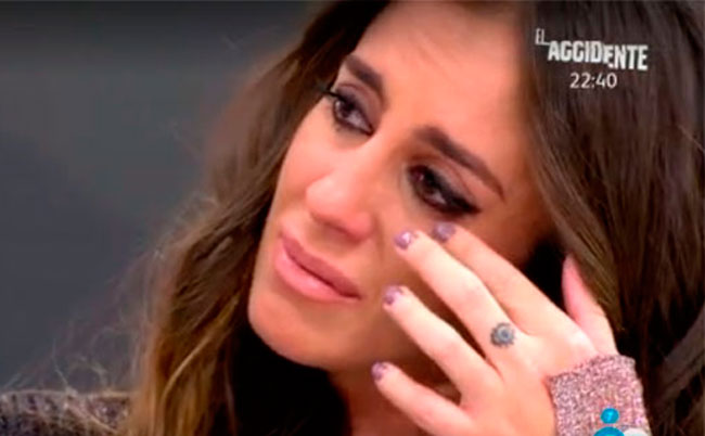 Las lágrimas de Anabel Pantoja defendiendo a su prima Isa