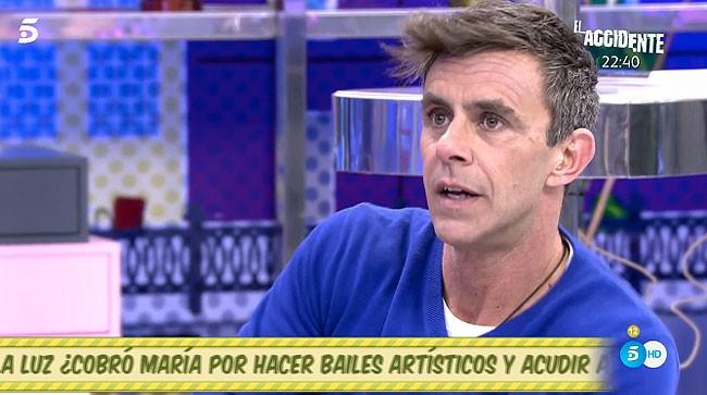 Alonso Caparrós, preocupado por su madre