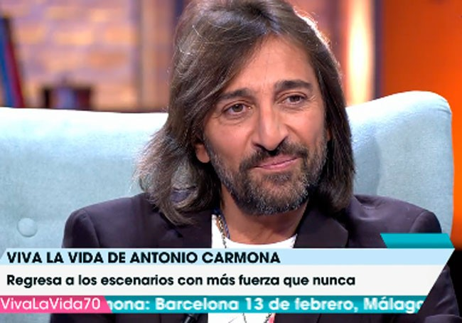 Antonio Carmona muestra los momentos más emotivos de su habitación de hospital