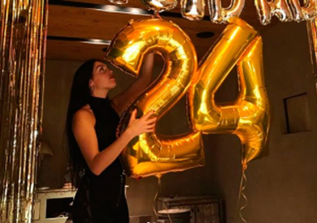 Georgina Rodríguez celebra su cumpleaños sin Cristiano Ronaldo