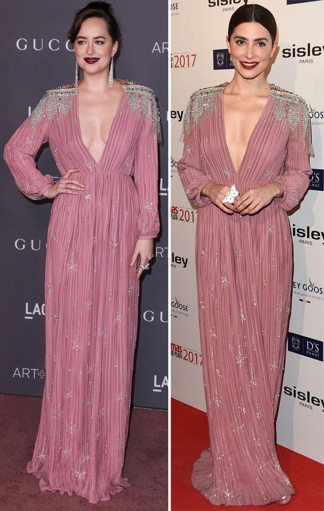 Dakotaa Johnson y Bárbara Lennie con el mismo vestido, ¿quién lo ...