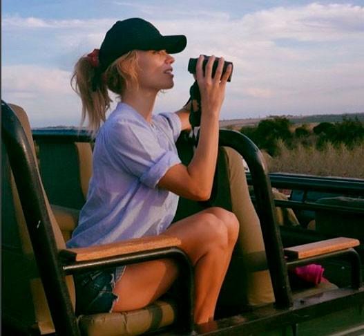 El álbum fotográfico del viaje de Patricia Conde por África
