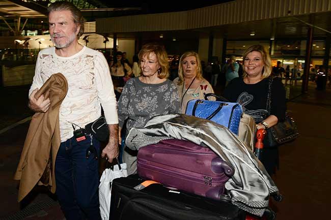 Las Campos y Edmundo llegan a Argentina